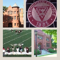 Collage of images of Springfield campus.